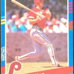 Darren Daulton Catcher Baseball Card Front