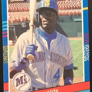 Harold Reynolds Second Base Baseball Card Front