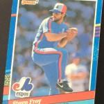 Steve Frey Baseball Card Front II