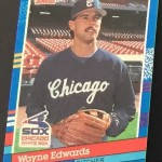 Wayne Edwards Pitcher Baseball Card Front I